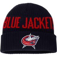 Columbus Blue Jackets Fanatics Branded True Classic Bold Cuffed Knit Hat - Navy - OSFA