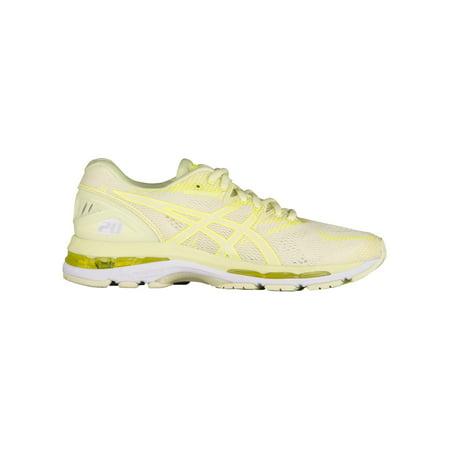 a16391ba88e0 ASICS® GEL-Nimbus 20 - Women s - Running - Shoes - Limelight Limelight Safety  Yellow - Walmart.com