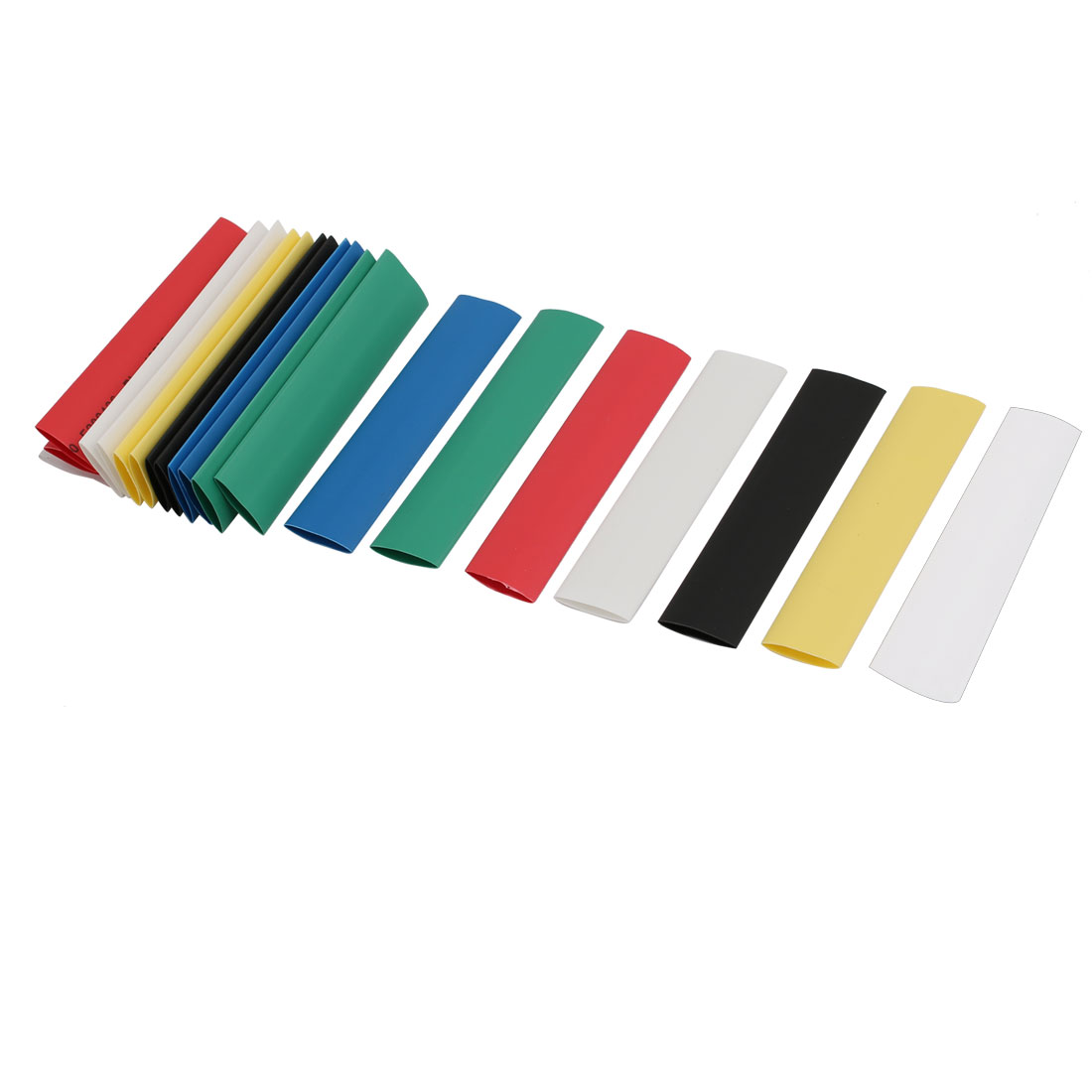 Unique Bargains 12mmx90mm Multi-Colors Insulated Heat Shrink Tube Sleeving Wrap Wire Kits 105pcs - image 3 of 3