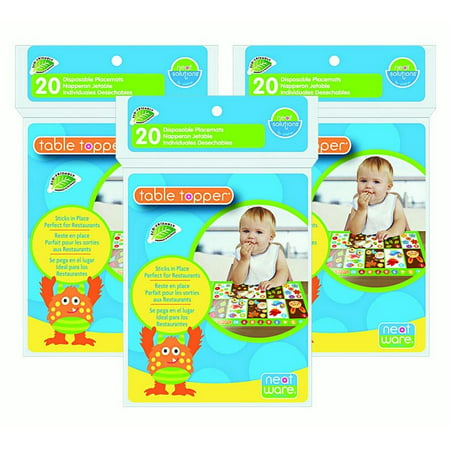 Neat Solutions Neatware Eco Table Topper 60 Count - Table Topper