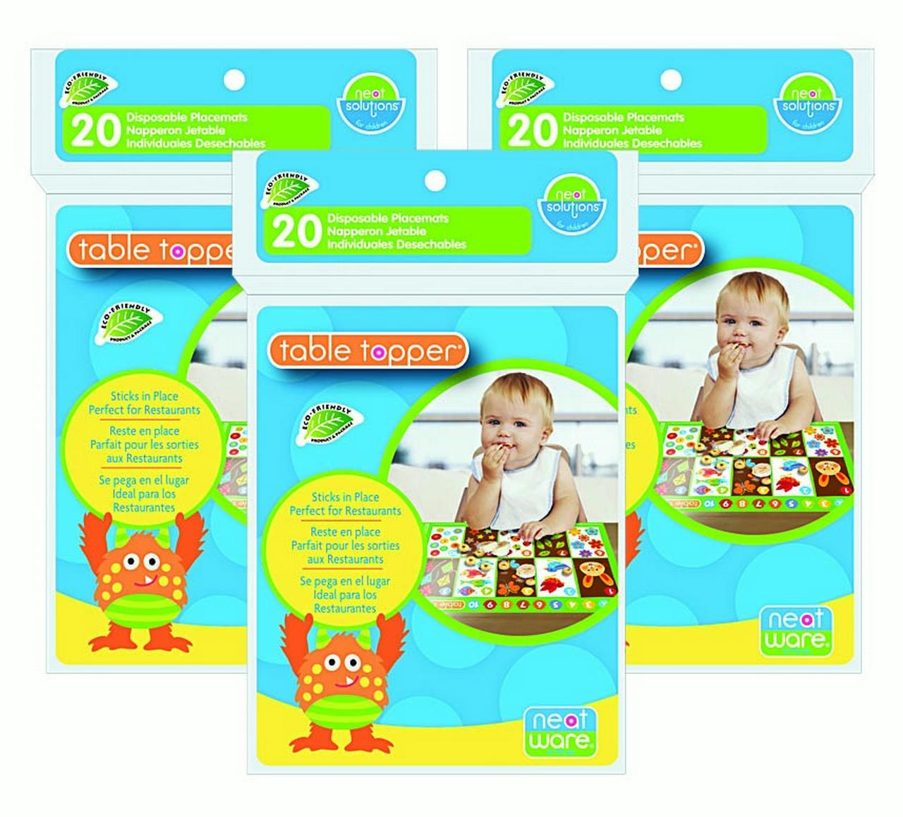 Neat Solutions Neatware Eco Table Topper 60 Count
