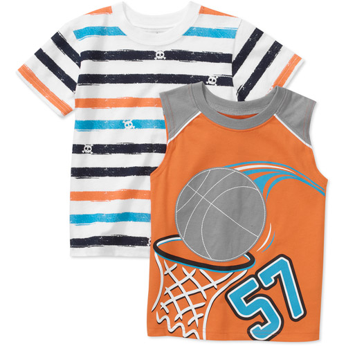 Garanimals - Baby Boys' 2 -pack Tank And