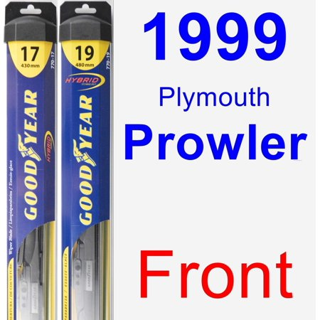 1999 Plymouth Prowler Wiper Blade Set/Kit (Front) (2 Blades) - Hybrid