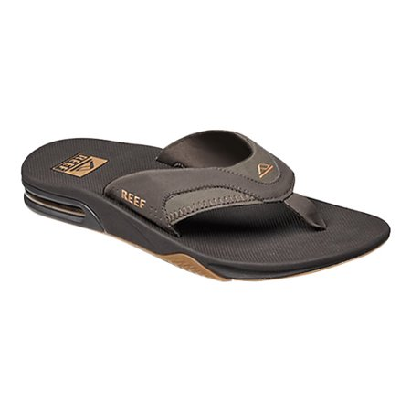 aa1e0e9c51e9 Reef - Reef Men s Fanning Brown   Gum Low Top Rubber Sandal - 10M -  Walmart.com