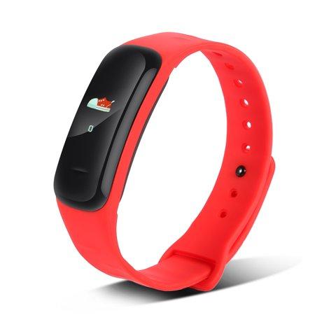 Yosoo Smart Wristband With Heart Rate Sleep Monitor Fitness Tracker Bracelet Activity