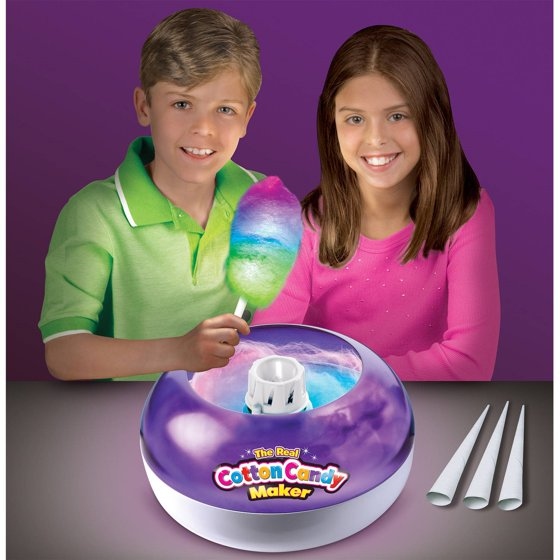 Deluxe Cotton Candy Maker With Lite Up Wand Walmart