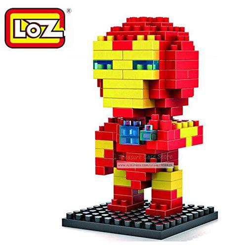 LOZ Mini Assembly Diamond Blocks Nanoblock The Avengers Iron Man Children's Educational... by