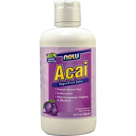 NOW Foods Acai Superfruit Juice, 32 Fl Oz
