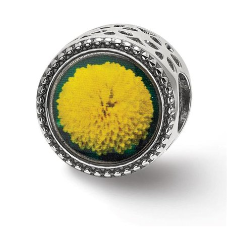 Sterling Silver Reflections November Flower Bead - image 1 de 1