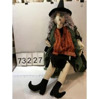 Melrose 47 in. Polyester Witch Decoration