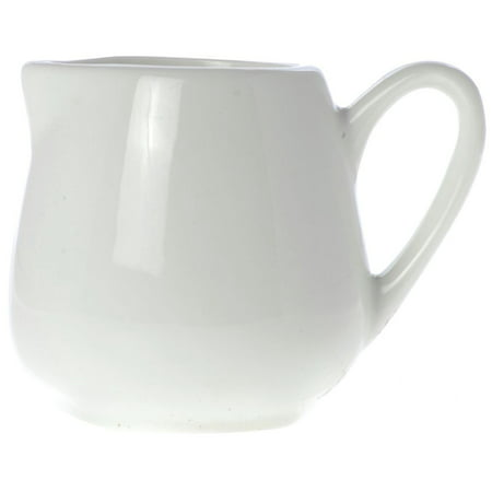 American Metalcraft Creamer 2.5 oz Bright White Porcelain , - 2.375 Sugar