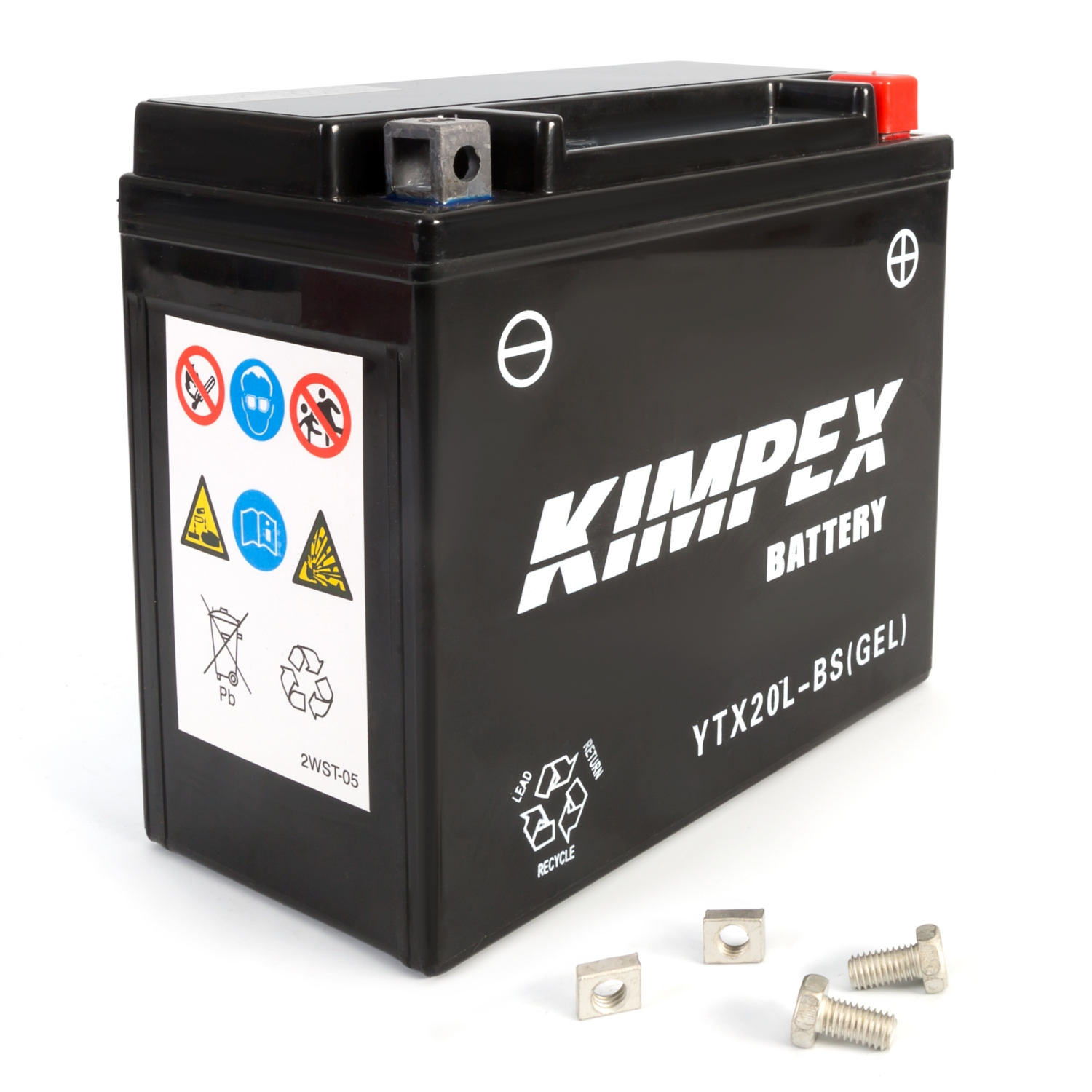 Kimpex Factory Activated Maintenance Free Gel Battery YTX20(L)-BS(GEL)-PP   #913127