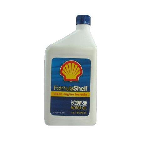 Formula shell 550024067 multi grade motor oil 1 qt amber for Formula shell motor oil