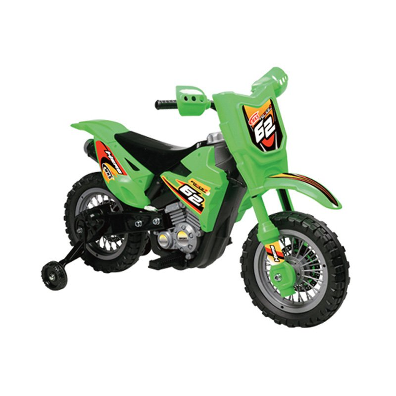 Vroom Rider Dirt Bike Motorcycle Battery Powered Riding Toy - Red