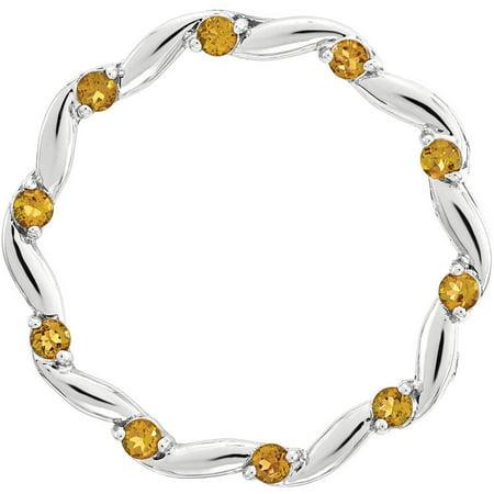 Orange Flower Ring - Sterling Silver Polished Orange Enameled Flower Ring