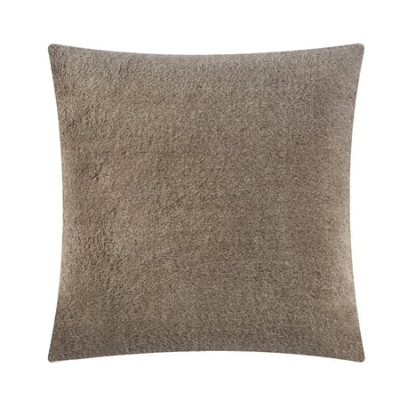 Better Homes & Gardens Luxe Faux Fur Decorative Throw Pillow Brown Leather Pillow Top Sofa