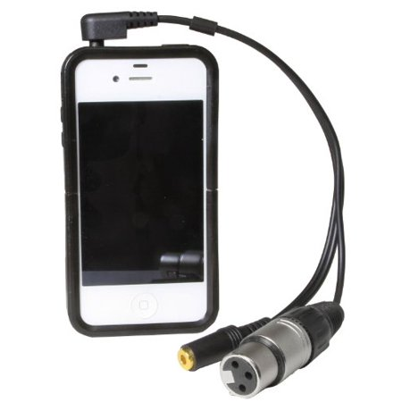 LyxPro XLR Female to TRRS 10 Feet Connects Professional XLR Microphones to iOS, iPhone, iPad, and iPod Includes Onput for Headphones - Long - image 2 of 3
