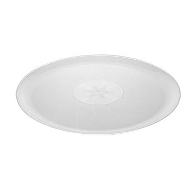 Fineline Settings 8601-CL Clear Classic 16'' Round Tray - image 1 of 1