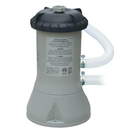 intex 1000 gph easy set swimming pool filter pump 637r - walmart.com