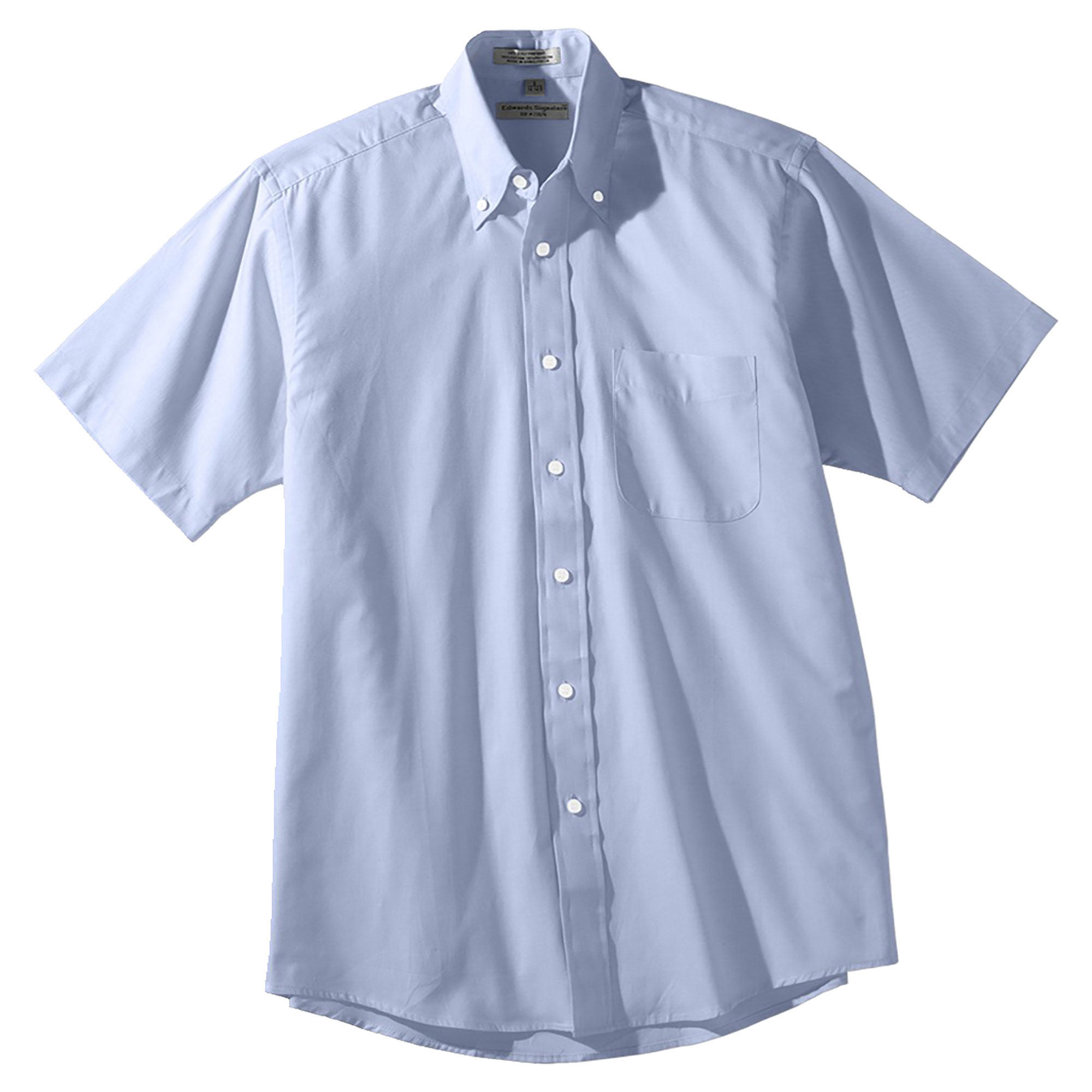 Edwards Garment Men's Big And Tall Pinpoint Oxford Shirt,...