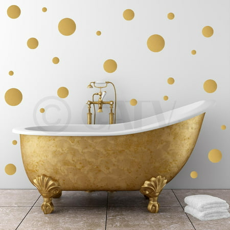 - Set of 130 Assorted Polka Dots Vinyl Lettering Wall Pattern Decal Sticker
