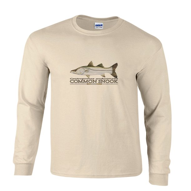 Common Snook Fishing Long Sleeve T-Shirt