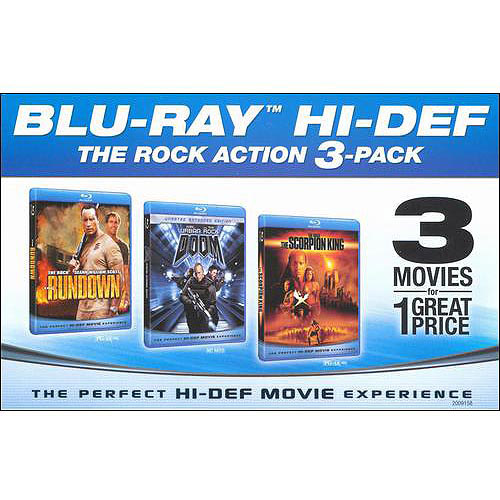 The Rock Collection: Doom / The Rundown / The Scorpion King (Blu-ray) (Widescreen)