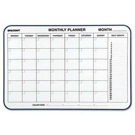 AbilityOne 4845263 7520014845263 24 x 36 in. Quartet 1 Month Cubicle Calendar Board ()