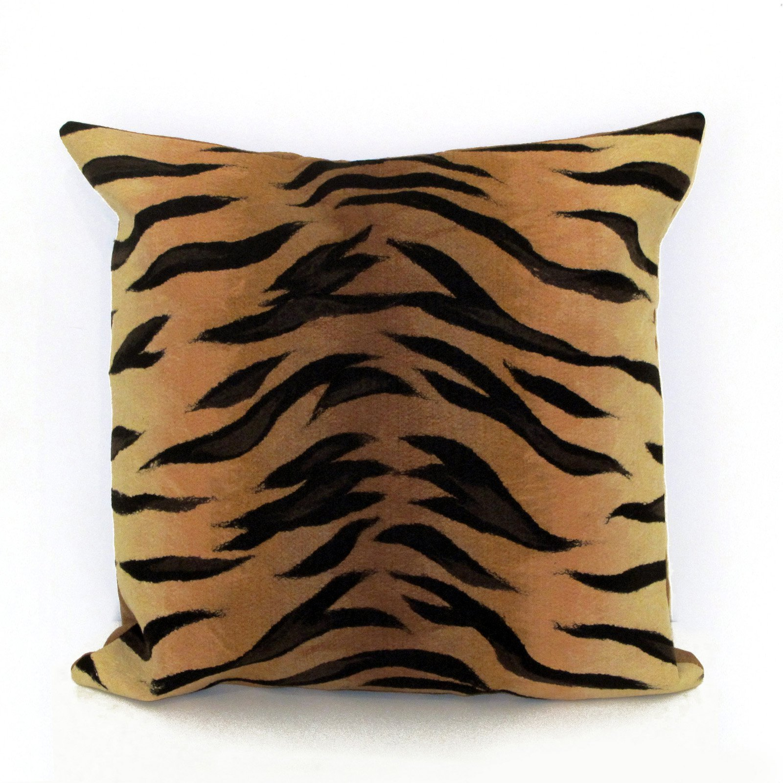 Liora Manne Tiger Indoor / Outdoor Throw Pillow