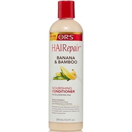 ors hairepair banana and bamboo nourishing conditioner for dry and brittle hair 12.5