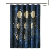 "Mainstays Celestial Microfiber Shower Curtain, 70"" x 72"""