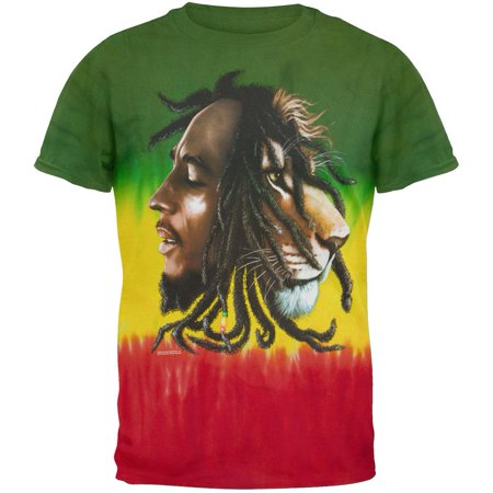 Bob Marley - Profiles Tie-Dye T-Shirt Bob Marley Tie Dye T-shirt