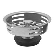 Hardware Express 2489761 Basket Strainer, Stainless Steel