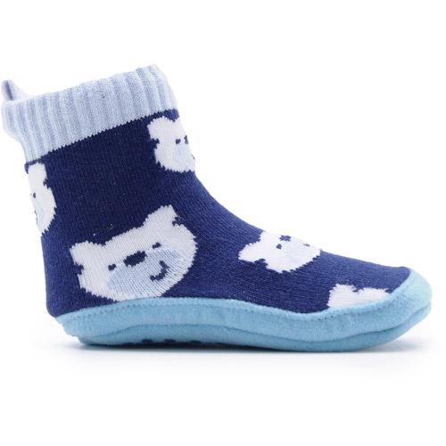 Skidders Baby Sweater Grip Booties - Polar Bears