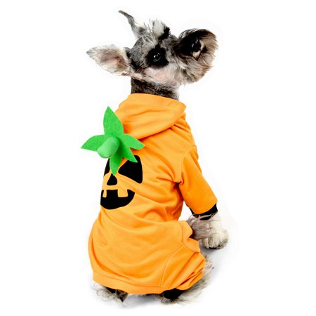 Pumpkin Dog Pajama Size XS (Dog Dressed As Pumpkin)