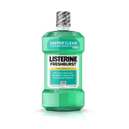 (2 pack) Listerine Freshburst Antiseptic Mouthwash for Bad Breath, 1.5