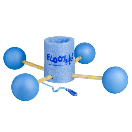 Floozie-Blue Canister with Blue Floats, Floating Beverage Holder