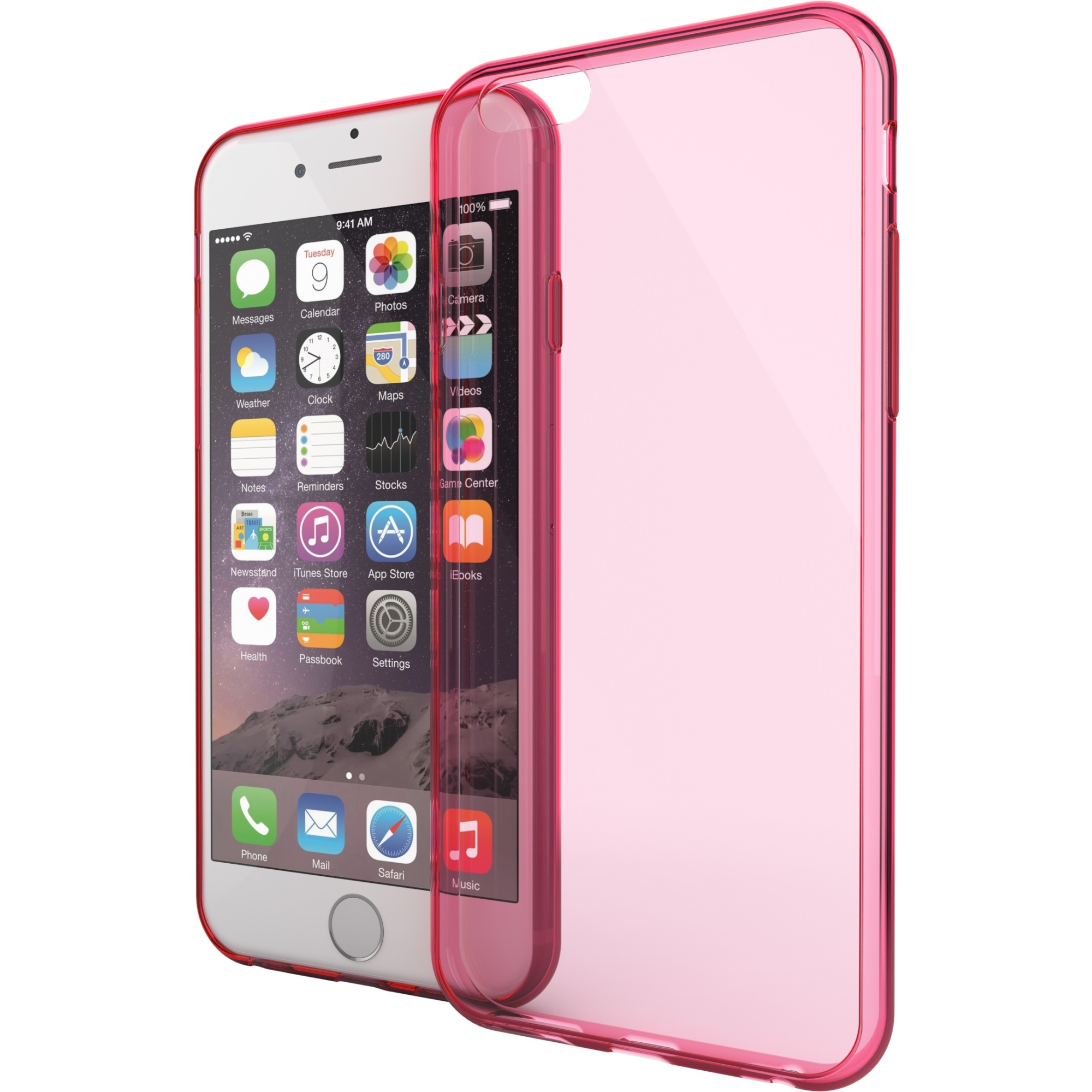 Mota iPhone 6 Plus Protection Case - Pink MT-I6PC5P