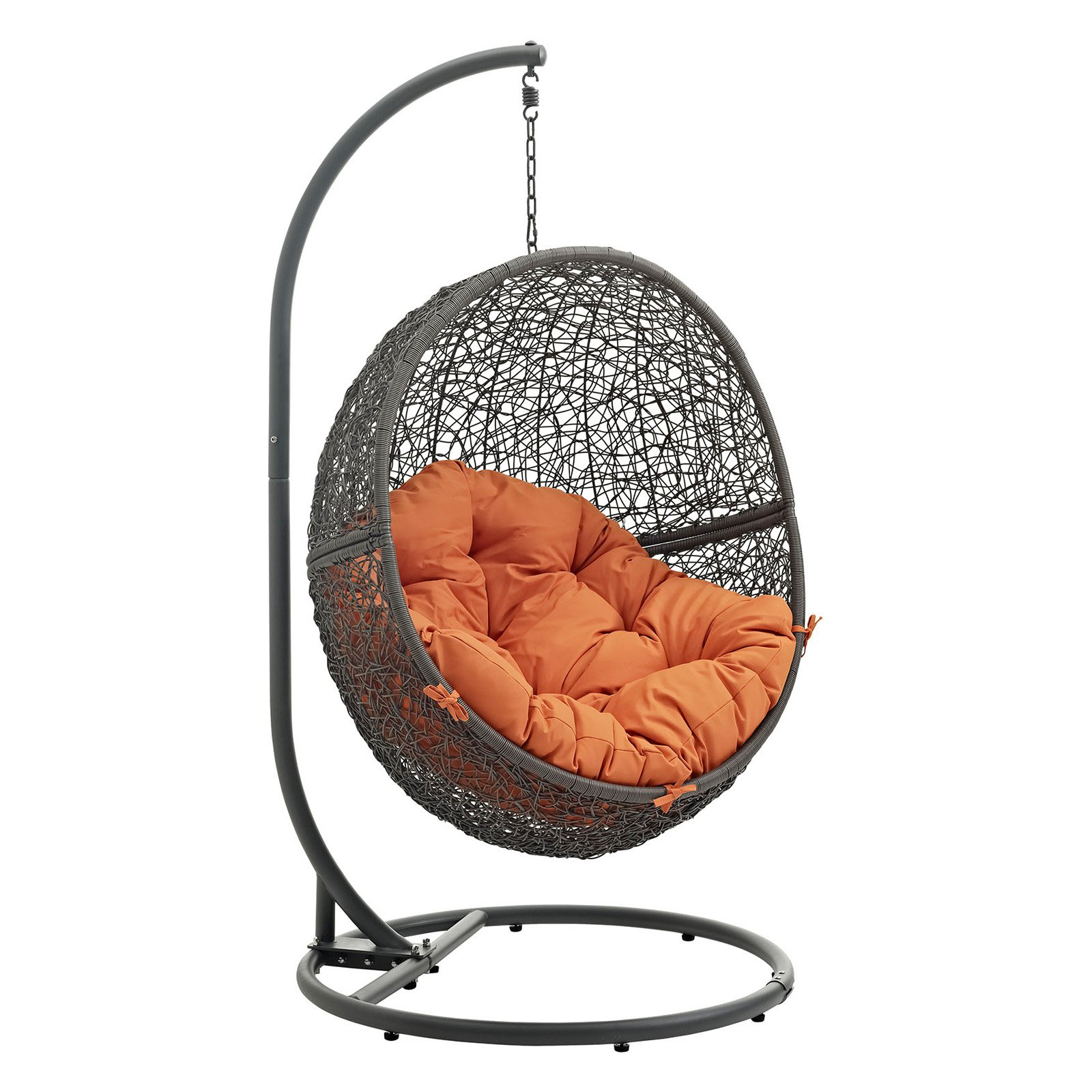 Modway Hide Outdoor Patio Swing Chair, Multiple Colors Available