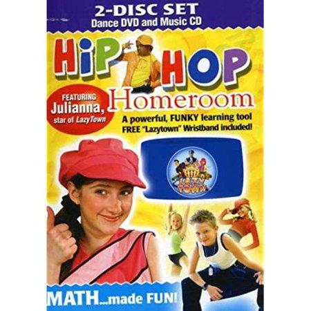 HIP HOP KIDS: HIP HOP HOMEROOM MATH ...MADE FUN !(DVD) - image 1 de 1