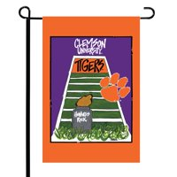 "Clemson Tigers 12"" x 18"" Double-Sided Garden Flag"