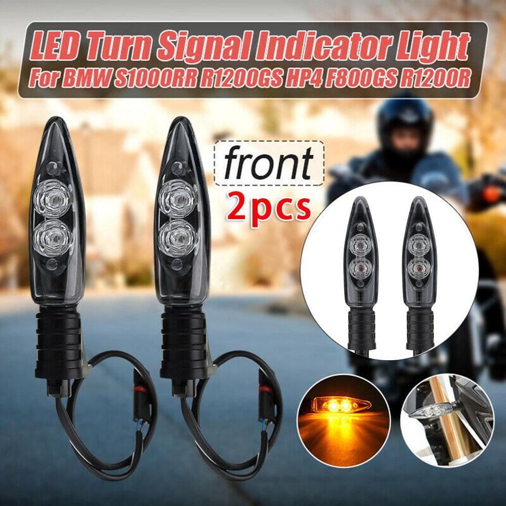 2Pcs Turn Signal Indicator LED Light Blinker for BMW S1000RR R1200GS F800GS