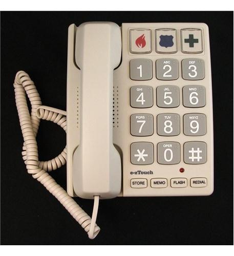 Cortelco ITT-2400 240085-VOE-21F Big Button SAND