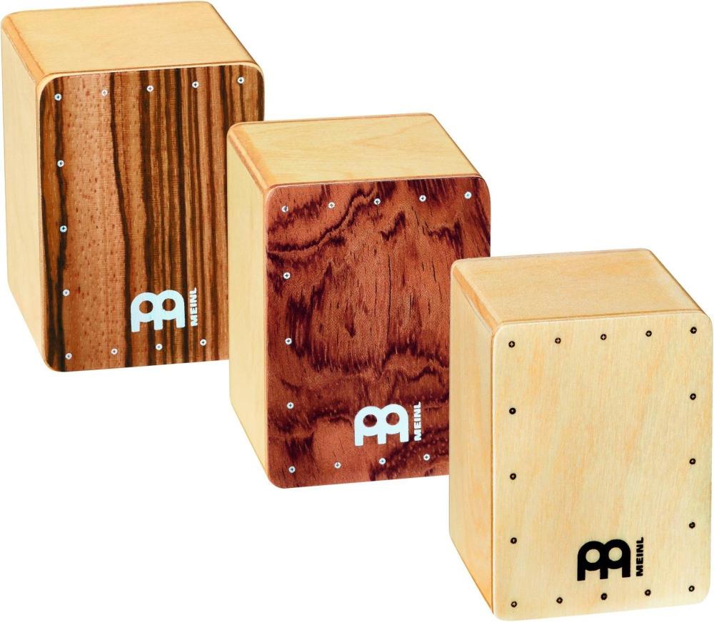 Meinl 3-Piece Mini Cajon Shaker Set by Meinl