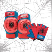 Marvel Spider-Man Bell Protective Pad and Glove Set, Red/Blue