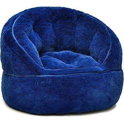 Idea Nuova Heritage Kids Toddler Rabbit Fur Bean Bag Chai...