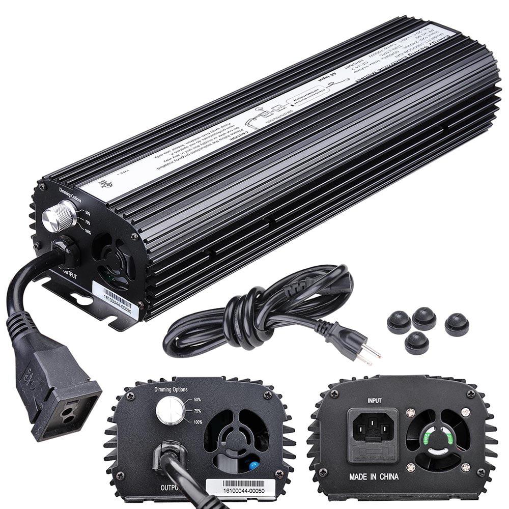 Yescom 1000W HPS MH Digital Electronic Dimmable Ballast Grow Light