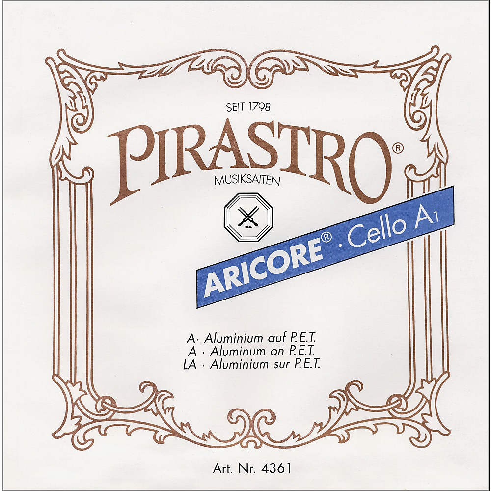 Pirastro Aricore Series Cello A String 4/4 Aluminum