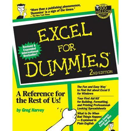 Excel For Dummies Walmart