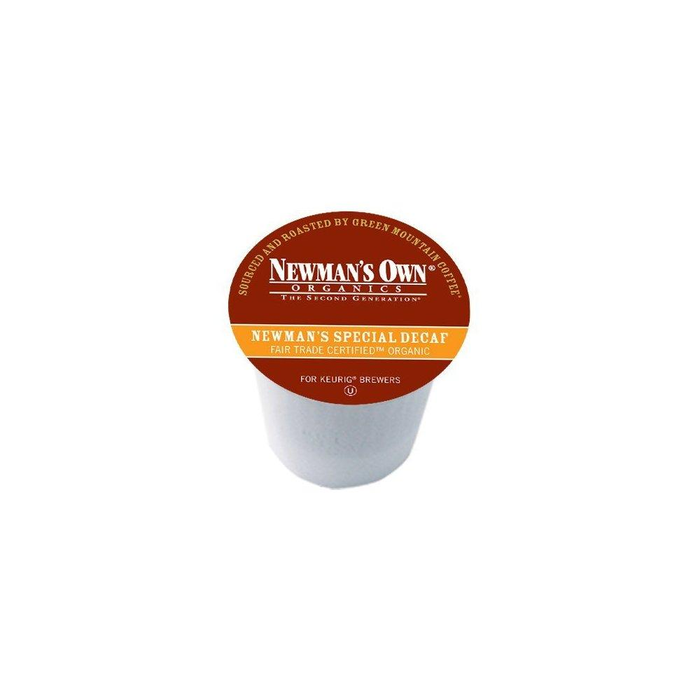 Newman's Own special decaf coffee for keurig brewers 24 k...